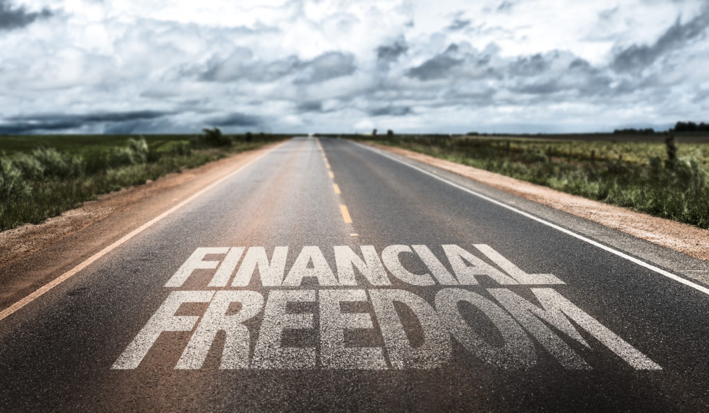 Road to financial freedom.